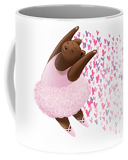 Ballet Bear Coffee Mug