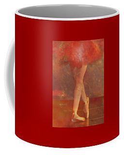Ballet Dancer Coffee Mug by Catherine Alfidi