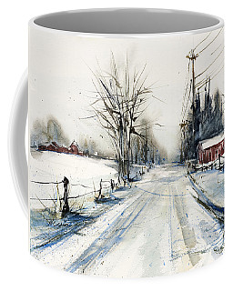 Ballina Road Coffee Mug by Judith Levins