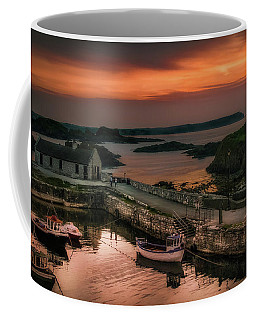 Ballintoy Harbour Sunset Coffee Mug