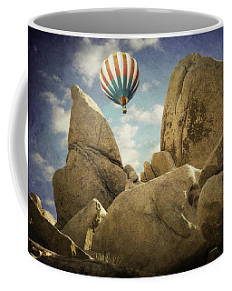 Ballooning In Joshua Tree Coffee Mug