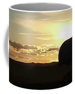 Coffee Mug featuring the photograph Balloonrise by Marie Leslie