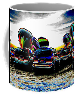 Coffee Mug featuring the photograph Balloons by Greg Patzer