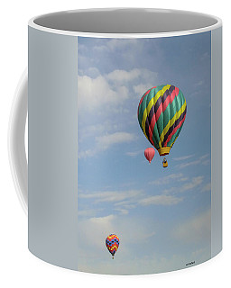 Balloons Over The Desert Coffee Mug
