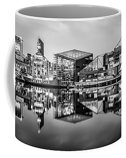 Baltimore In Black And White Coffee Mug