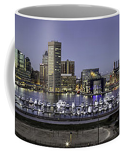 Baltimore Inner Coffee Mug by Eduard Moldoveanu