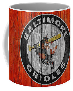 Baltimore Orioles Graphic Barn Door Coffee Mug