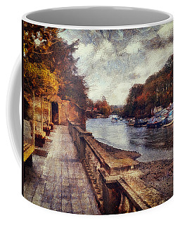Balustrades And Boats Coffee Mug
