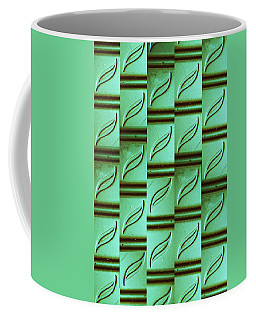 Coffee Mug featuring the mixed media Bamboo #3 by Mary Ellen Frazee
