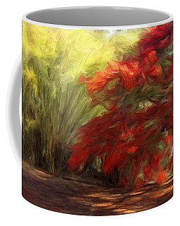 Bamboo And The Flamboyant Coffee Mug by Caito Junqueira