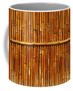Bamboo Fence Coffee Mug