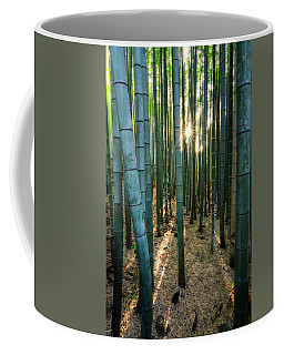 Bamboo Forest At Arashiyama Coffee Mug