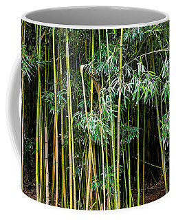 Bamboo Wind Chimes  Waimoku Falls Trail  Hana  Maui Hawaii Coffee Mug