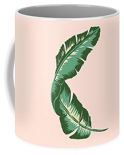Banana Leaf Square Print Coffee Mug