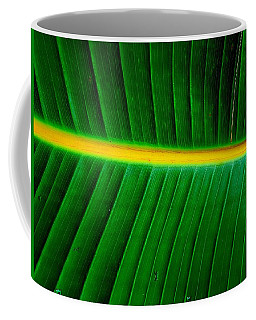 Banana Plant Leaf Coffee Mug