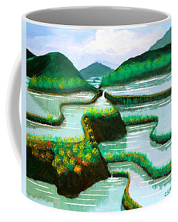 Banaue Coffee Mug by Cyril Maza