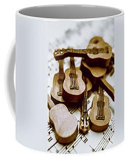Band Of Live Acoustic Guitars Coffee Mug