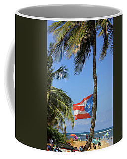 Bandera Beach Coffee Mug by The Art of Alice Terrill