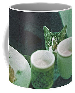 Coffee Mug featuring the photograph Bandit by Laurie Stewart