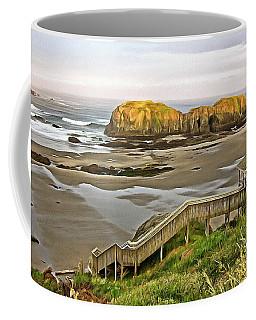 Bandon Beach Stairway Coffee Mug