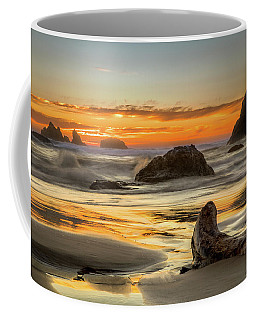 Bandon Orange Glow Sunset Coffee Mug