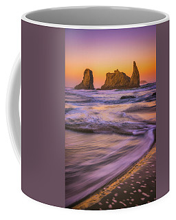 Coffee Mug featuring the photograph Bandon's Breath by Darren White