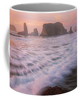 Coffee Mug featuring the photograph Bandon's Sunset Rush by Darren White