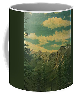 Coffee Mug featuring the painting Banff by Terry Frederick