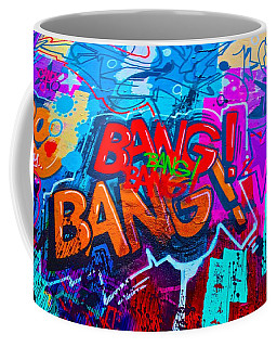 Bang Graffiti Nyc 2014 Coffee Mug
