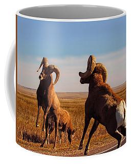 Bang Of The Bighorn Coffee Mug