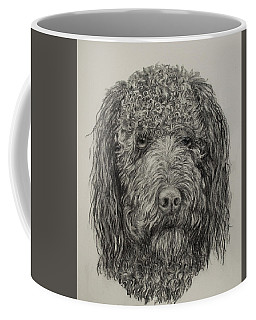 Banjo Labradoodle Coffee Mug