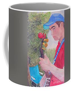 Banjo Player Coffee Mug by Sandy McIntire