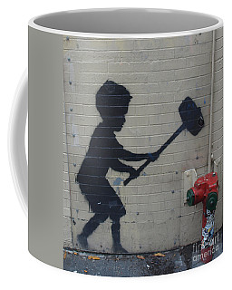 Banksy In New York Coffee Mug