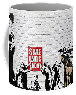 Banksy - Saints And Sinners   Coffee Mug