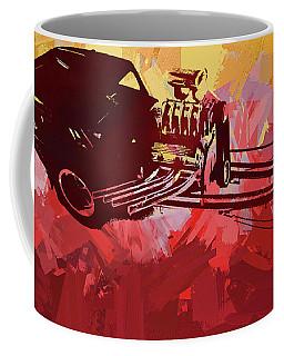 Bantam Dragster Pop Red Coffee Mug