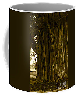 Banyan Surfer - Triptych  Part 1 Of 3 Coffee Mug
