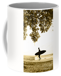 Banyan Surfer - Triptych  Part 3 Of 3 Coffee Mug