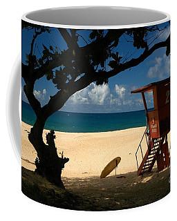 Banzai Beach Coffee Mug by Mark Gilman