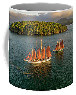 Sailing Thru Life The Downeast Way Coffee Mug
