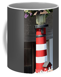 Bar Harbor Lighthouse Coffee Mug by Living Color Photography Lorraine Lynch
