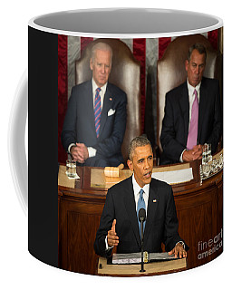Barack Obama 2015 Sotu Address Coffee Mug
