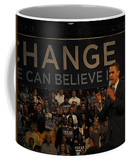 Barack Obama Campaigning Coffee Mug