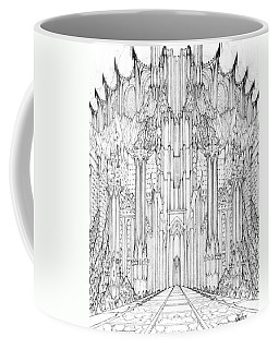 Barad-dur Gate Study Coffee Mug