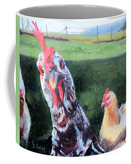 Barbara The Chicken Coffee Mug