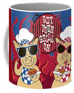 Barbecue Pigs Coffee Mug