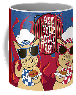 Barbecue Pigs Coffee Mug