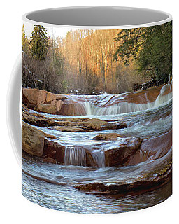 Barbershop Falls Wv In Winter Coffee Mug