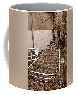 Coffee Mug featuring the photograph Bare Bones Miners Camp by Marie Neder