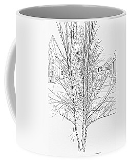 Bare Naked Tree Coffee Mug