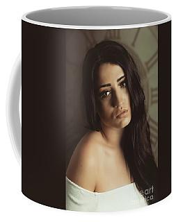 Bare Shoulder Woman Coffee Mug